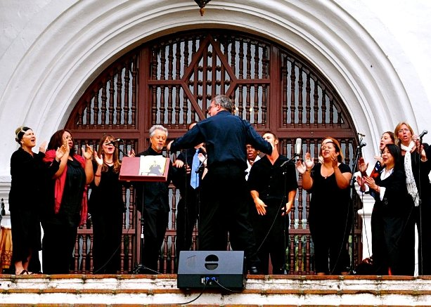 Inner Light Gospel Choir at Sunken Gardens